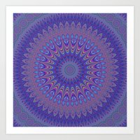 mandala Art Prints featuring Mandala by David Zydd