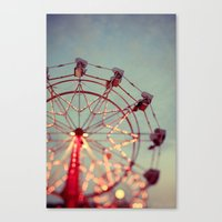 Canvas Print featuring I Wish I May by Alicia Bock