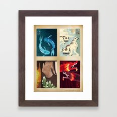 Original Bending Masters… Framed Art Print