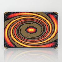 Spiral Fire In Abstract iPad Case
