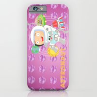 iPhone & iPod Case featuring Astronaut by Alapapaju