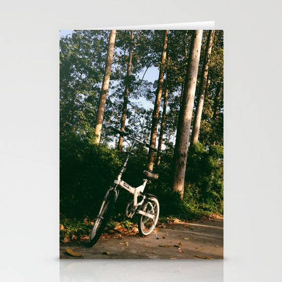 Trail Bike Stationery Card
