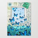 """""""Butterfly Zone"""" Canvas Print"""
