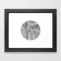 Circle Series #5 Framed Art Print
