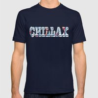 Shallow Water Mens Fitted Tee Navy SMALL