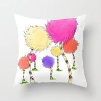 Truffulas Throw Pillow