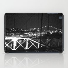 WHITEOUT : Standing 'Top the Bright Lit City iPad Case