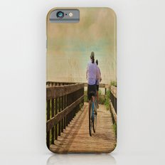 Sunny Day Bike Ride iPhone 6 Slim Case