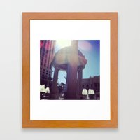 Caesar, your palace is lovely  Framed Art Print