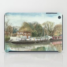 Rosa on the Grand Union Canal iPad Case