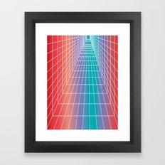 A matter of perspective     Framed Art Print