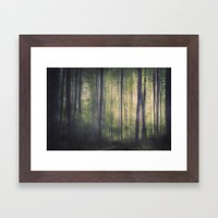In The Woods Of Mournton… Framed Art Print