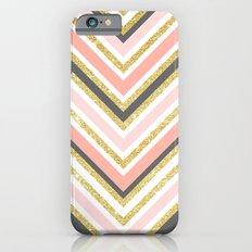 Stylish Boho Gray Pink C… iPhone 6 Slim Case