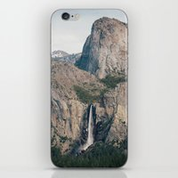 Yosemite Waterfall iPhone & iPod Skin