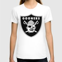 Astoria Gooners Womens Fitted Tee White SMALL