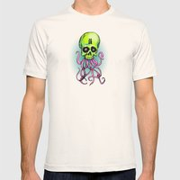 ä Skull Mens Fitted Tee Natural SMALL