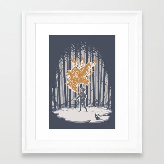 Invincible Summer Framed Art Print