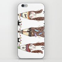 Tipi Party iPhone & iPod Skin