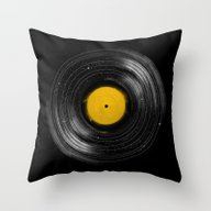 Throw Pillow featuring Sound System by Speakerine / Florent…