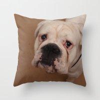 My dog Konstantin Throw Pillow