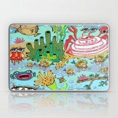 Mini Mermaids And Friend… Laptop & iPad Skin