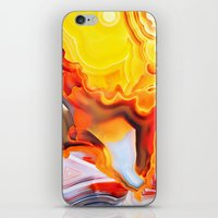 Earth's Fantasy, from the Lithosphere emerges Beauty - Agate iPhone & iPod Skin