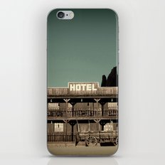 Old West Hotel fine art photography iPhone & iPod Skin