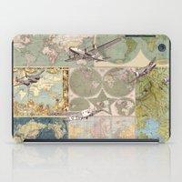 Flight Patterns iPad Case
