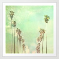 Los Angeles. La La Land … Art Print