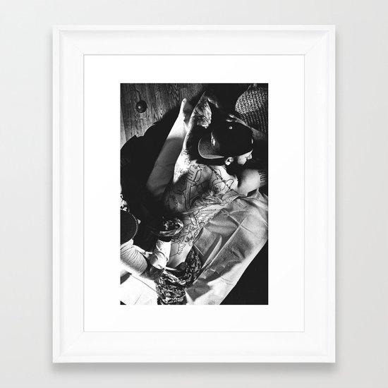 ytt Framed Art Print