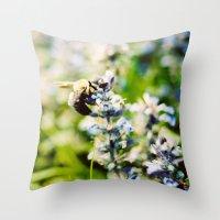 SWEET BEE Throw Pillow