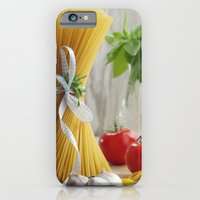 iPhone & iPod Case featuring delicious pasta by Tanja Riedel