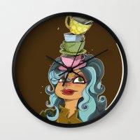 Tea Tyme Y'all Wall Clock