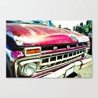 Ford Tough Canvas Print