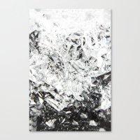 Aluminum Diamonds Canvas Print