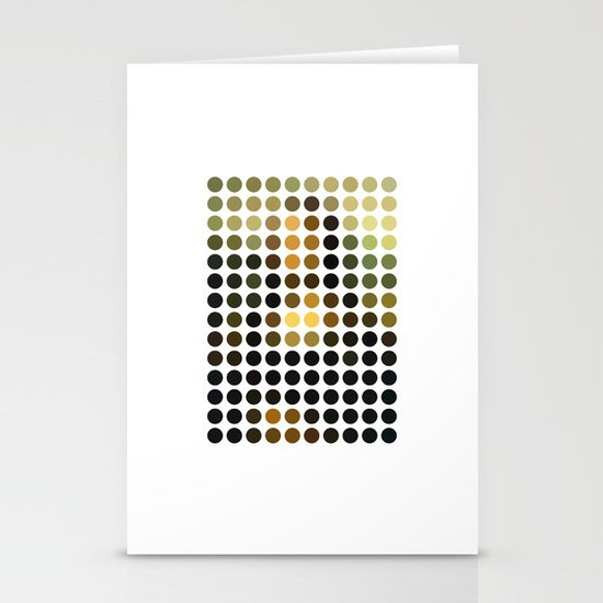 Mona Lisa Stationery Card