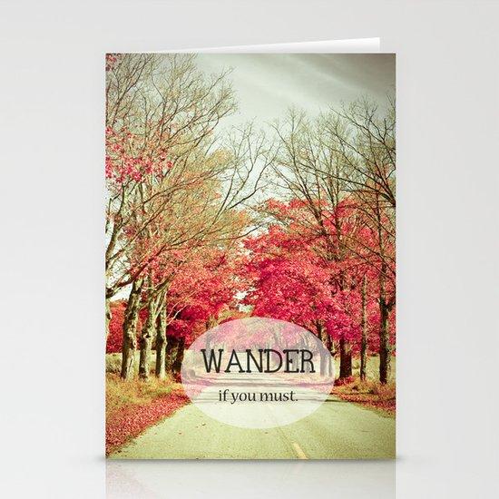 Wanderlust Stationery Card