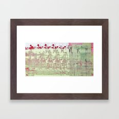 abstract 117 Framed Art Print