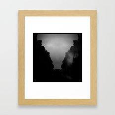 Paris in the morning Framed Art Print