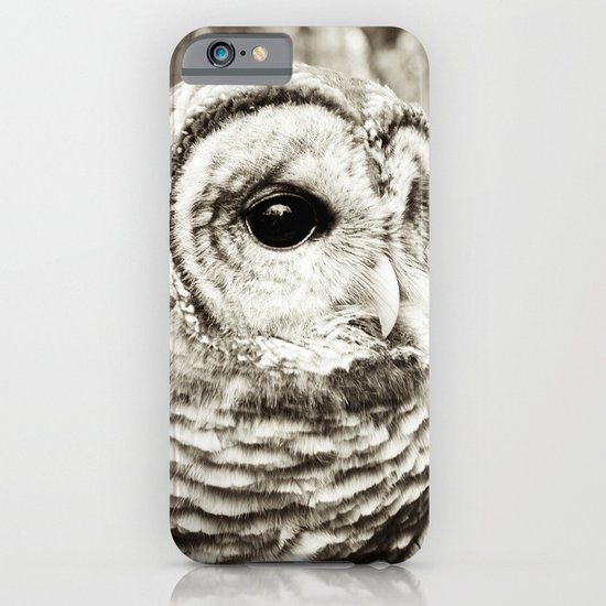 Wise Old Owl iPhone & iPod Case