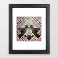 V is for Vermin  Framed Art Print