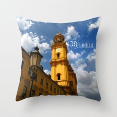 Around the world in 80 photos | Munich Throw Pillow