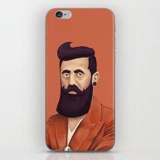 The Israeli Hipster leaders - Binyamin Ze'ev Herzl iPhone & iPod Skin