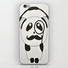Professor Panda iPhone & iPod Skin