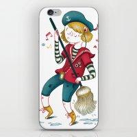Ship's boy iPhone & iPod Skin