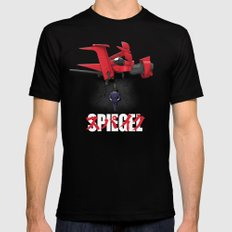 Spiegel Black SMALL Mens Fitted Tee