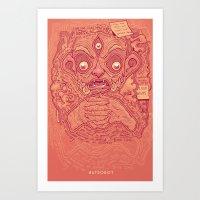 1000 Pots Art Print