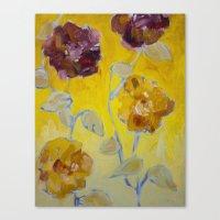 Flower Series 16 Canvas Print