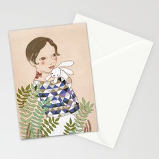 Spring bunny Stationery Cards