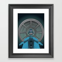 Consume The Galaxy Framed Art Print